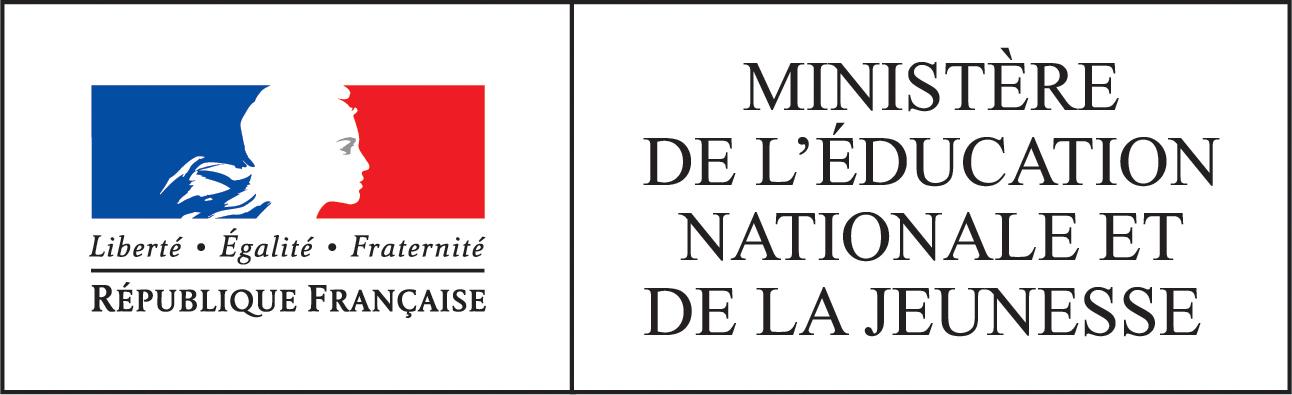 Logo Ministère de l'éducation nationale et de la jeunesse